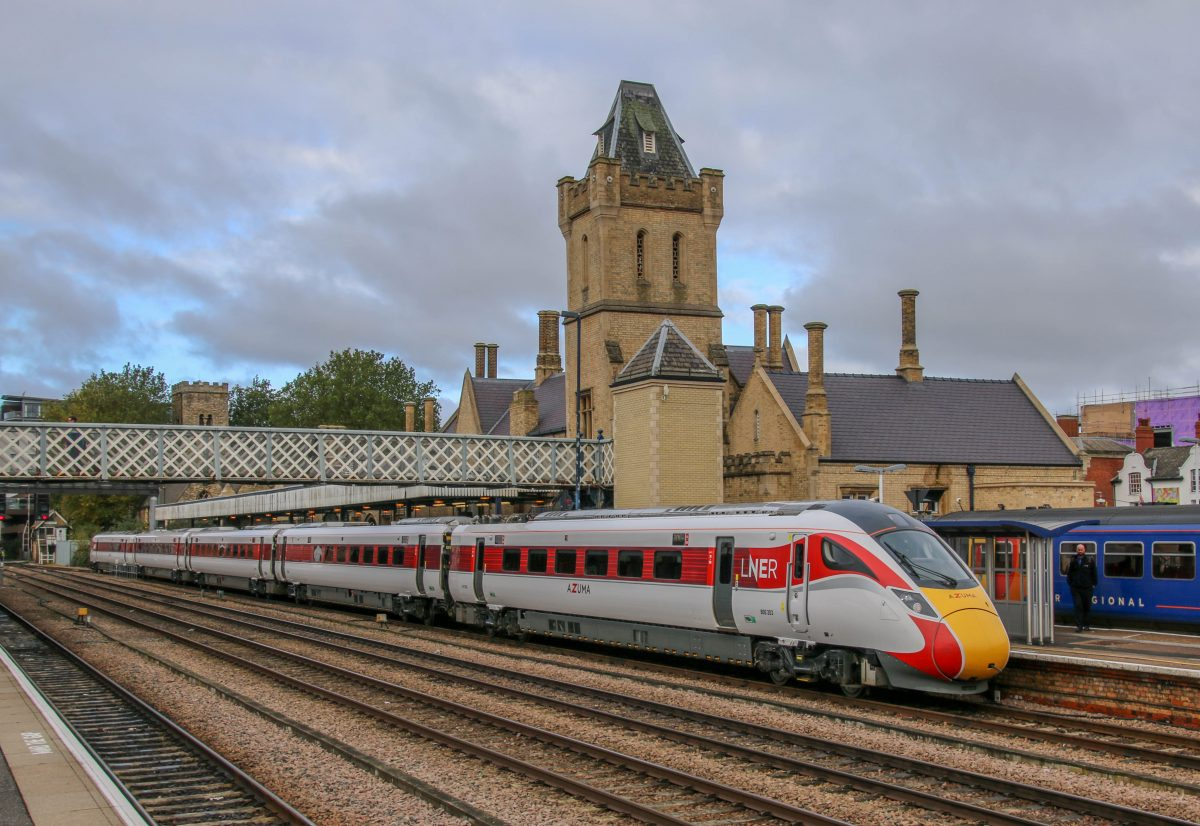 Railcam News & Features Launch with New Azuma Service.