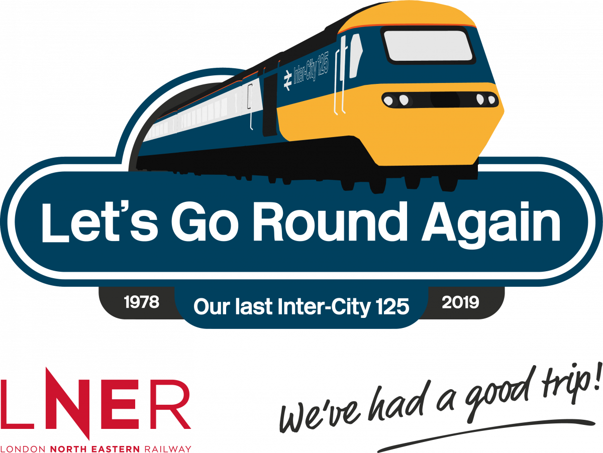 LNER BIDS FAREWELL TO THE INTERCITY 125 HIGH SPEED TRAIN
