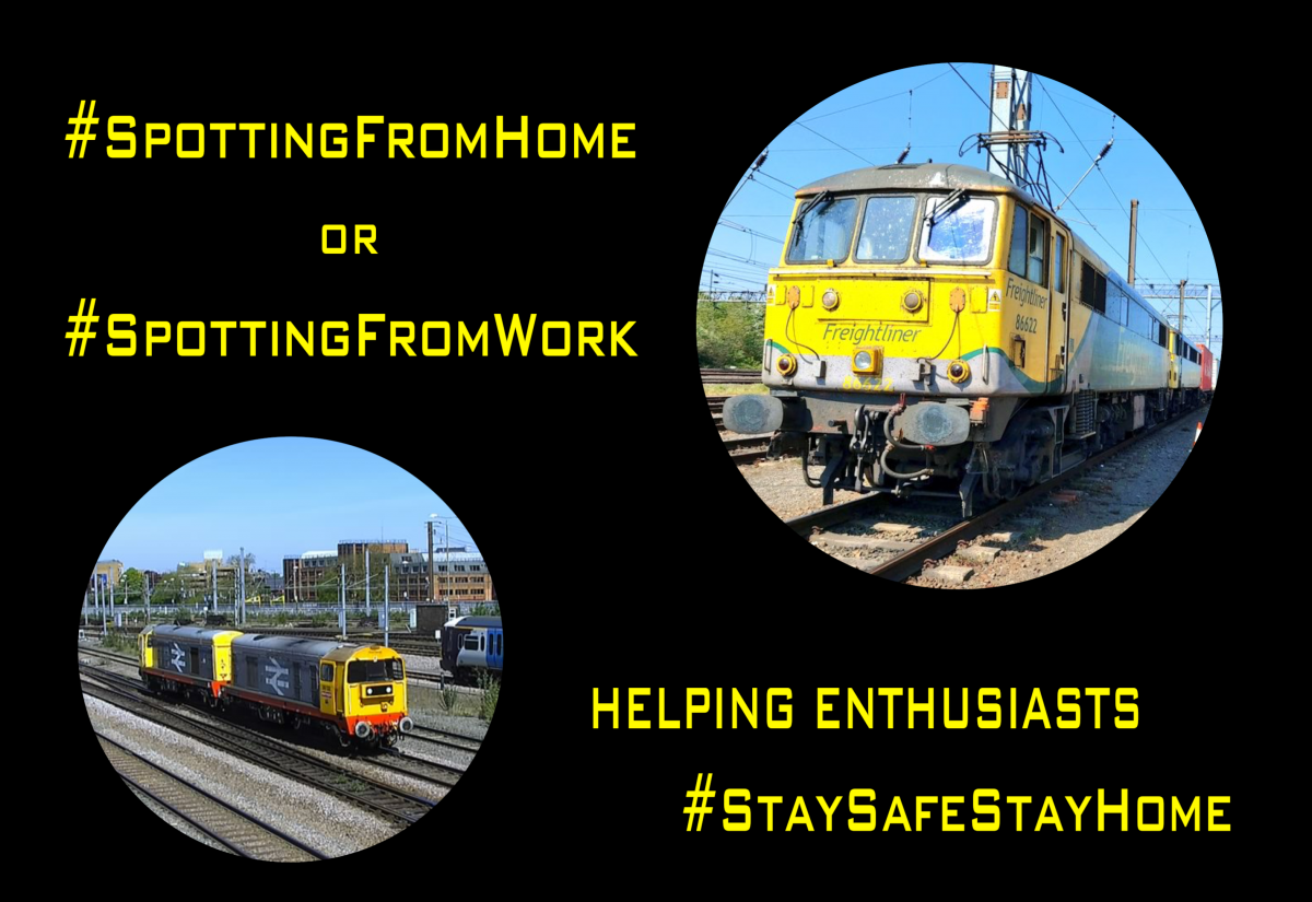 "Railcams ""Spotting from home campaign"" success"