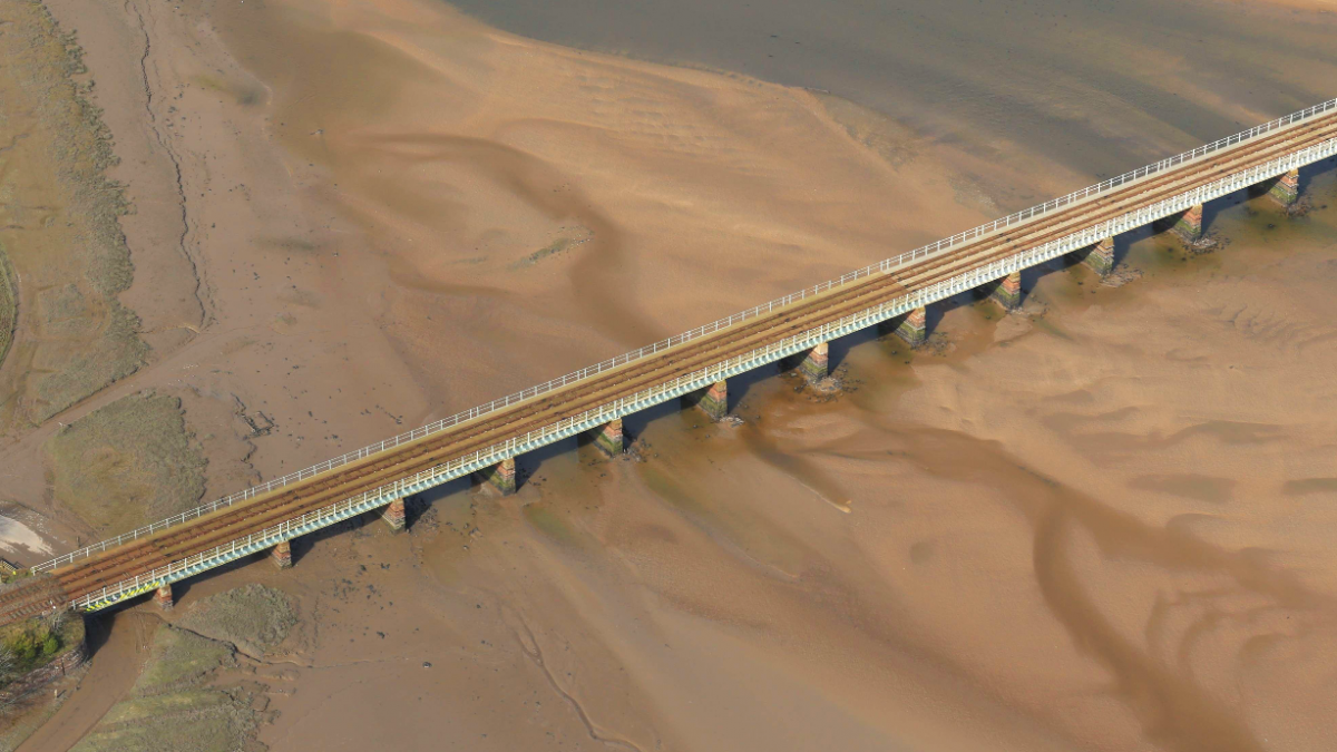 Major investment complete for historic viaduct on Cumbrian Coast line