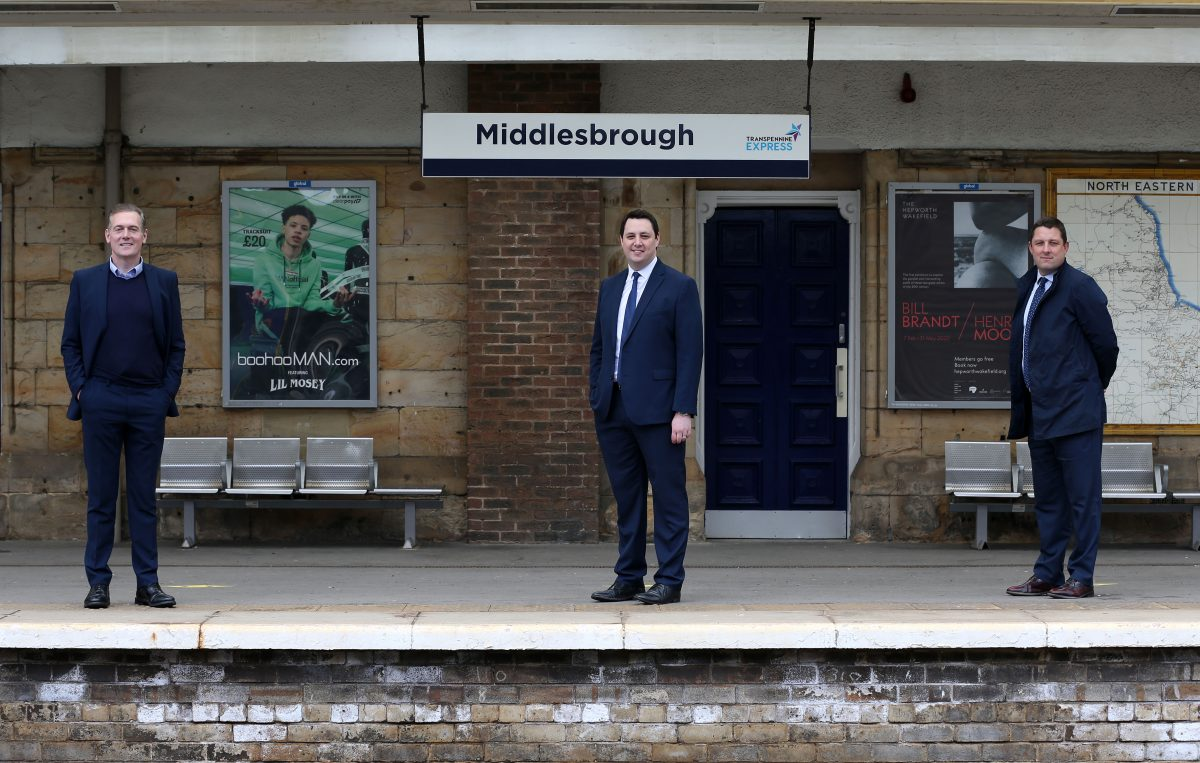 Tees Valley Mayor launches £35million station transformation to deliver more trains to Middlesbrough